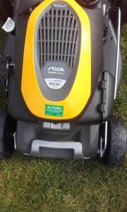 nieuwe STIGA  met Honda motor