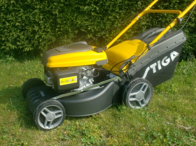 grasmaaier met Honda motor